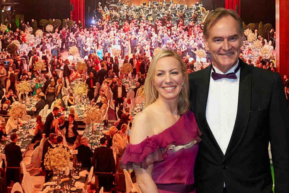 Leipziger Opernball: Damit überraschten OB Jung und Frau Ayleen