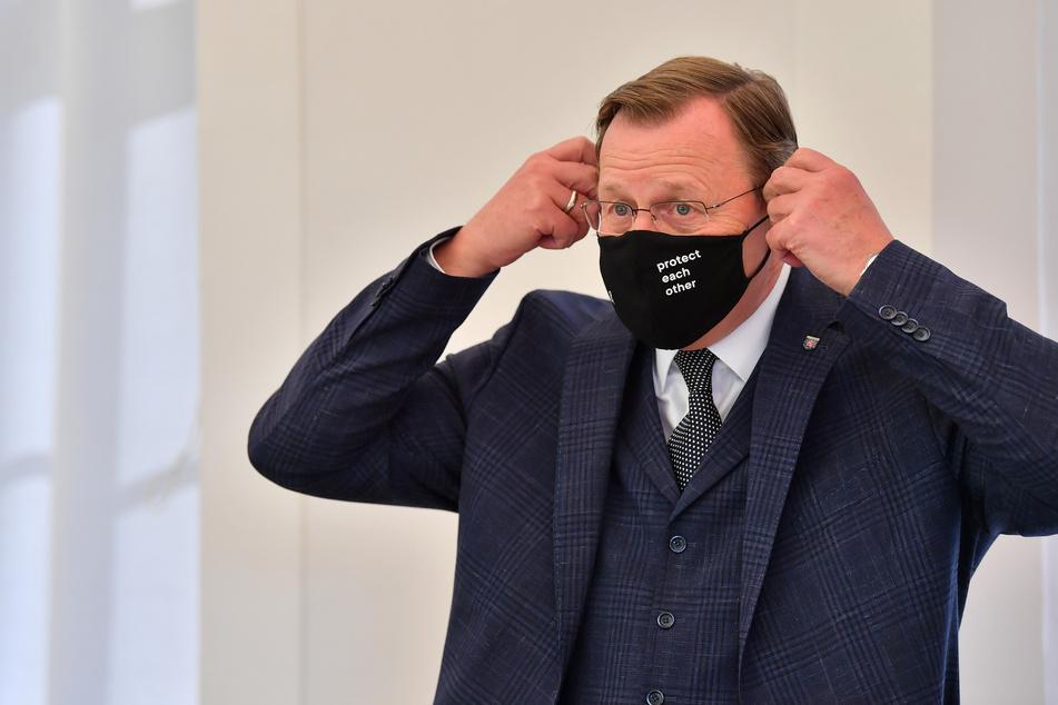Die Thüringer Landesregierung lockert nun einige Corona-Regeln. Im Bild: Bodo Ramelow (64, Linke).