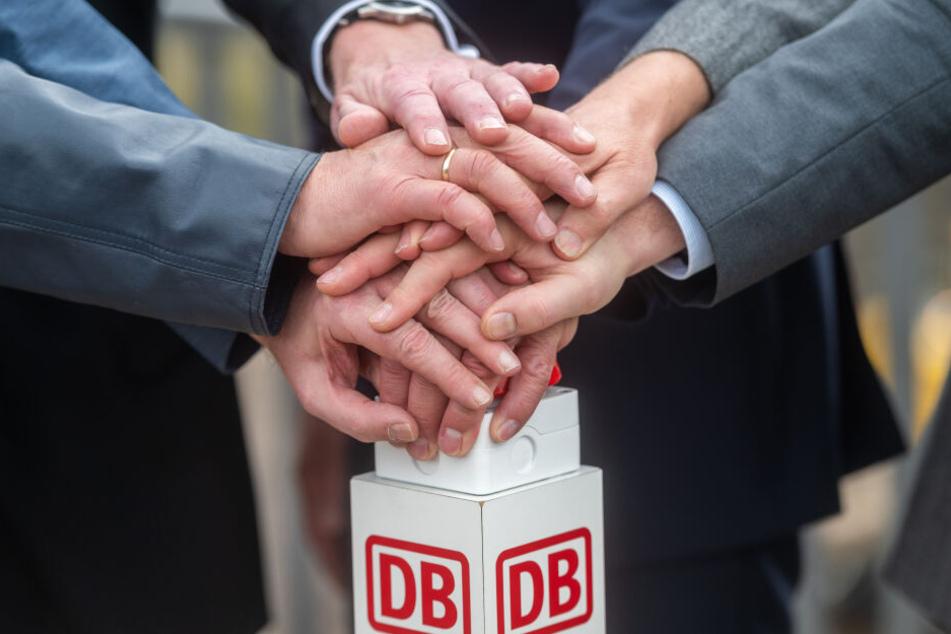 Der Startschuss für die Erneuerung des Chemnitzer Bahnbogens ist gefallen.