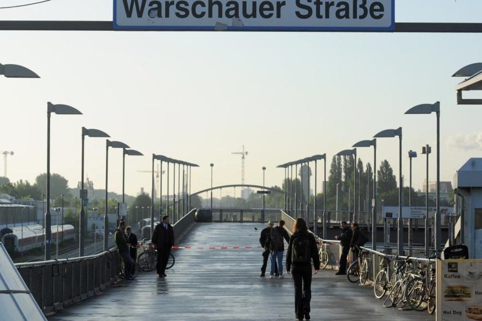 Auch die Warschauer Straße steht auf der Liste der Orte, an denen besonders viel Kriminalität passiert.
