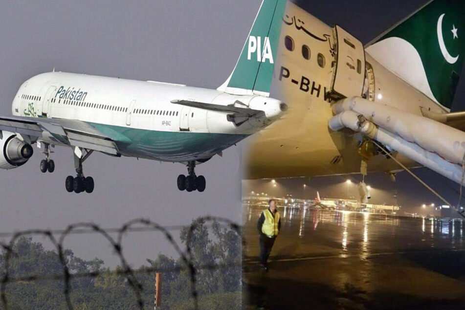 Notrutsche öffnet sich: Frau verwechselt Exit-Tür mit Toilette im Flugzeug