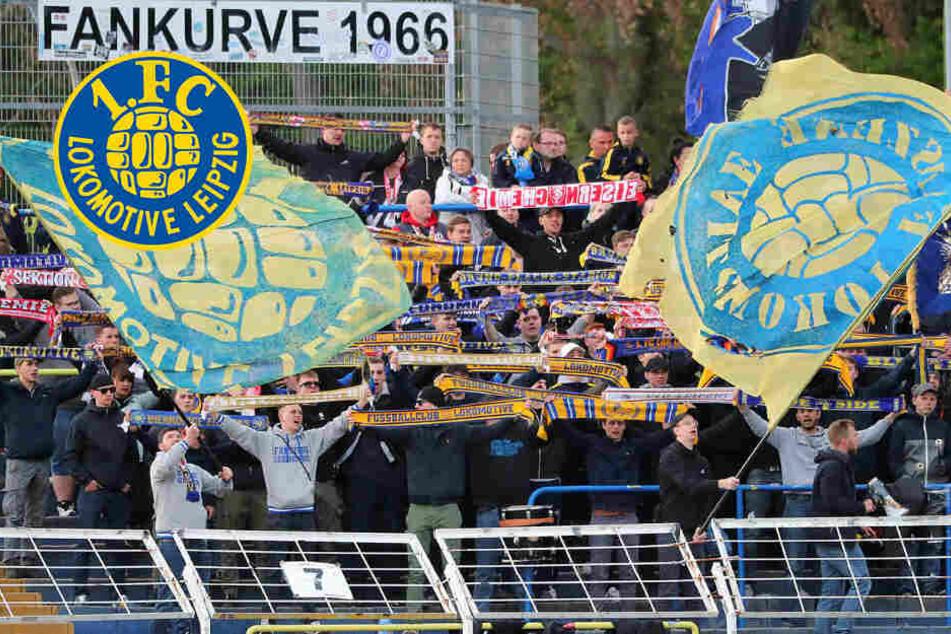 Drei Verletzte! Fans von Lok Leipzig liefern sich Auseinandersetzung mit Polizei