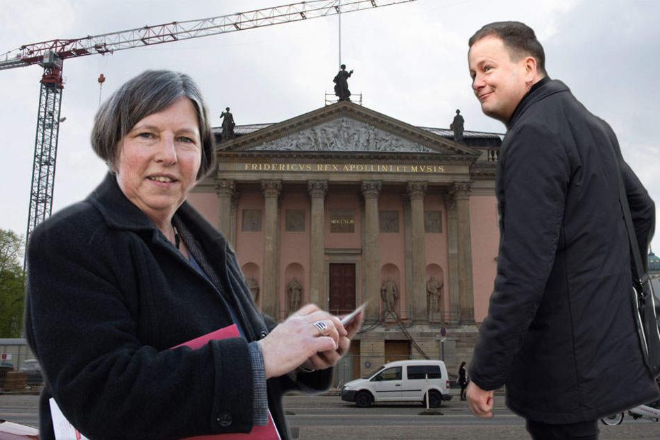 Katrin Lompscher und Klaus Lederer haben einen Plan für die Wiedereröffnung der Staatsoper.