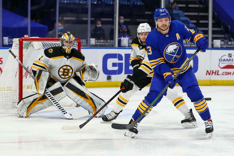 NHL: Reinhart shines as the Sabres snap the Bruins' streak with an impressive win