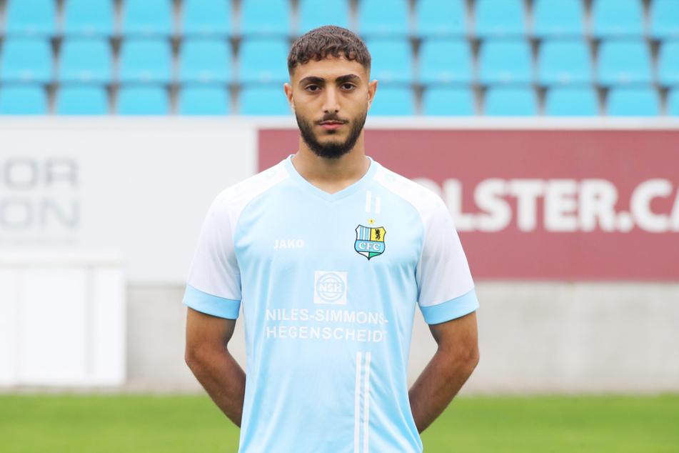 Aschti Osso (19) unterschrieb 2021 beim CFC seinen ersten Profivertrag.