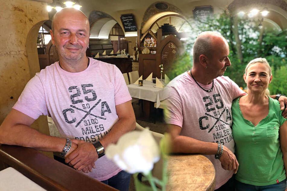 Gefeiert wird im Herzen der Stadt: Ratskeller-Chef heiratet seine Jugendliebe