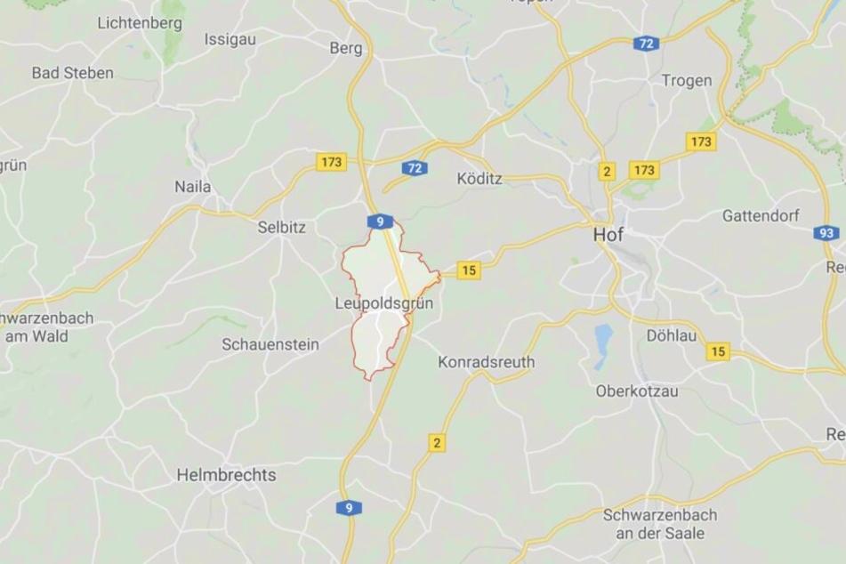 Die Polizei stoppte den Mann an der A9 bei Leupoldsgrün im Landkreis Hof.