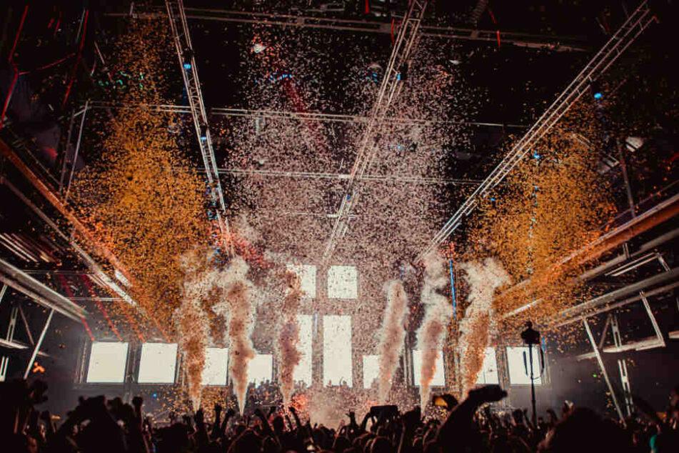 Das Contact Festival zieht jedes Jahr Tausende Techno-Fans an.