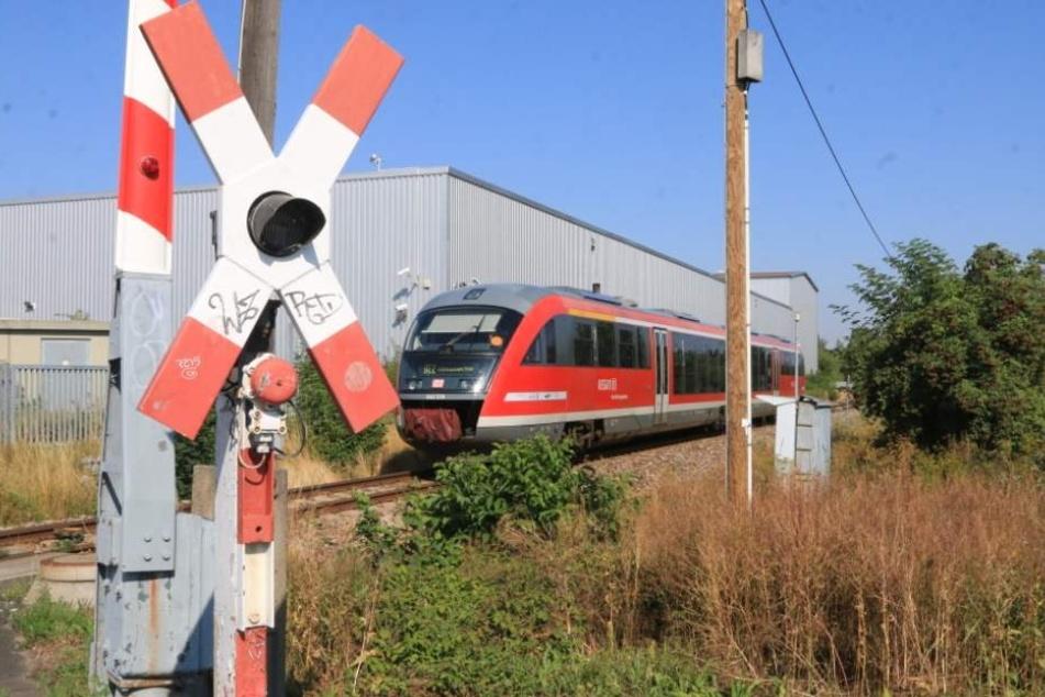 Von diesem Zug wurde der Mann erfasst.