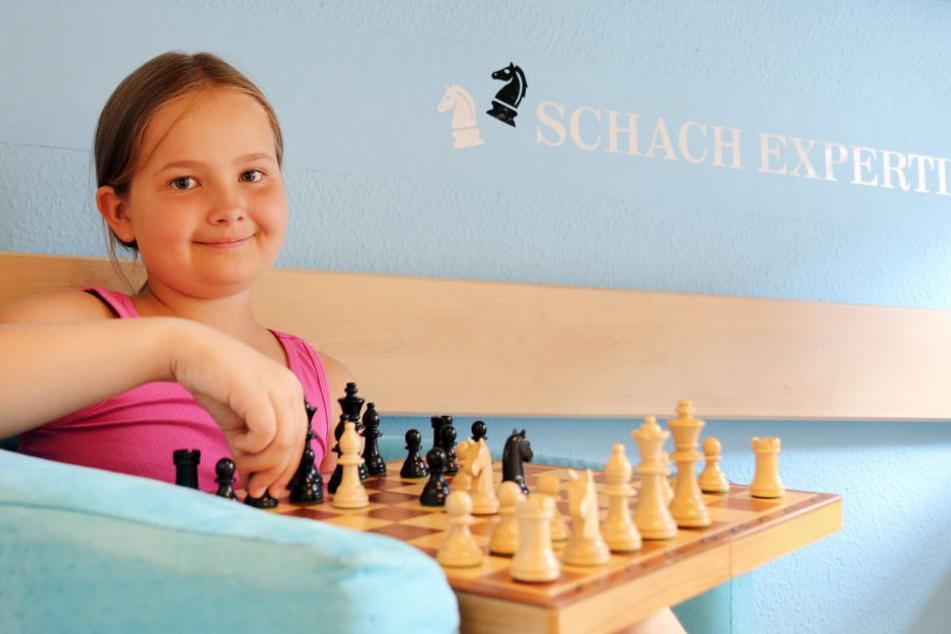 Saskia Pohle spielt erst seit drei Jahren Schach, gehört aber schon zu Deutschlands Besten.