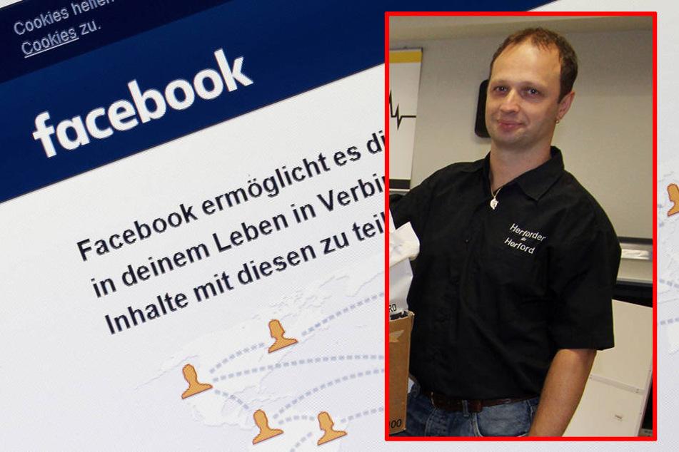 Branko Kreinz hat kein Verständnis für die Schließung der Facebook-Gruppe seines karitativen Vereins.