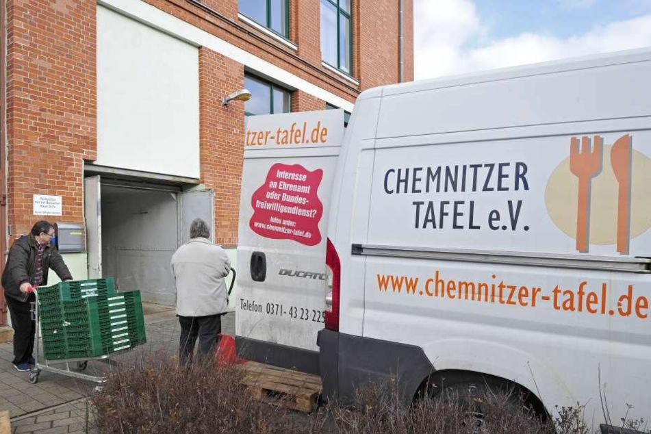Um zur Tafel nach Schönau zu gelangen, müssen viele Chemnitzer lange Wege auf sich nehmen.