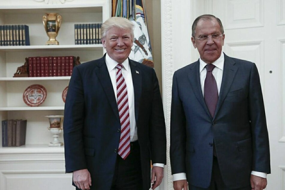 Trump und Russlands Außenminister Sergej Lawrow am 10. Mai bei einem Treffen im Weißen Haus.