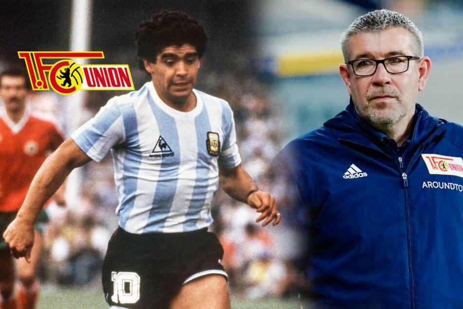 """Union-Coach zu Maradona (†60): """"Ist mir das eine oder andere Mal entwischt"""""""