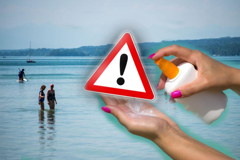 Badegäste können die Wasserqualität des Sees verschlechtern.