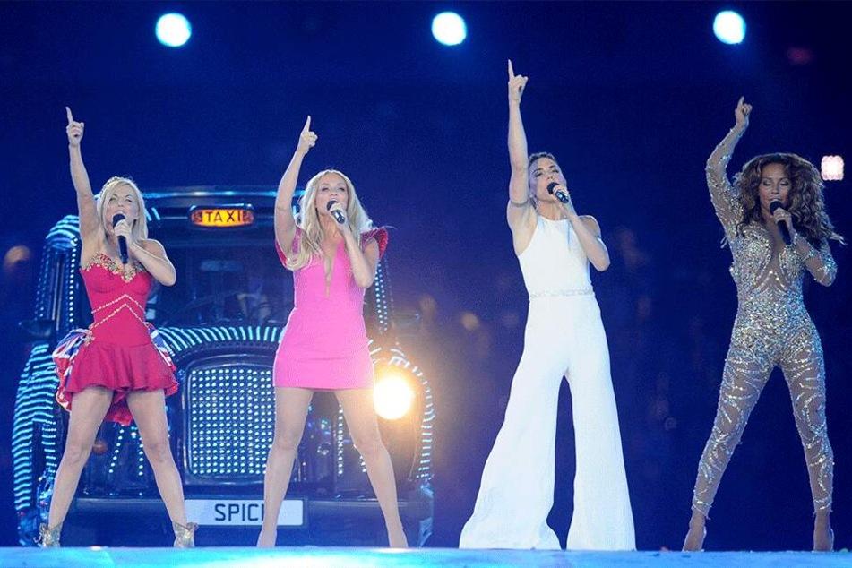 Die Spice Girls bei der Abschlussfeier der Olympischen Spiele im August 2012 in London.