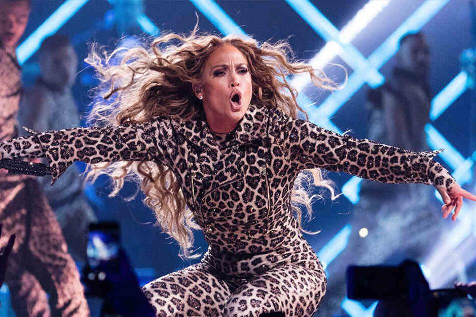"""Jennifer Lopez ist derzeit auf """"It's my Party""""-Welttournee."""