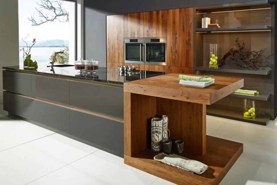 Solche Traumküchen gestaltest und planst Du für Deine Kunden.