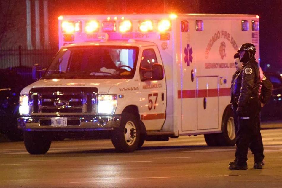 Die verletzte Polizisten wurde ins Krankenhaus gebracht, wo sie starb (Symbolfoto).