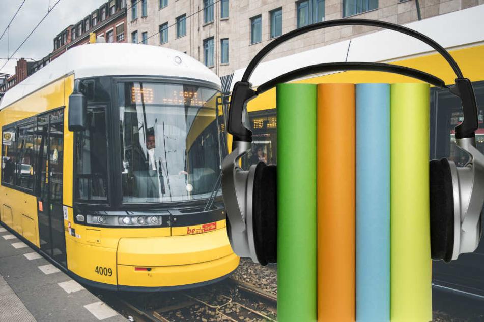 Die BVG bietet an ihren Ticketautomaten Hörbücher zum Verkauf an. (Symbolbild)