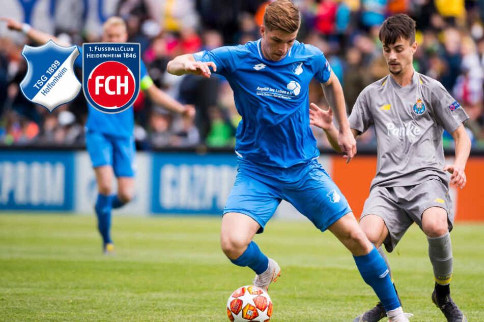 TSG Hoffenheim leiht Sturmtalent an den 1. FC Heidenheim aus
