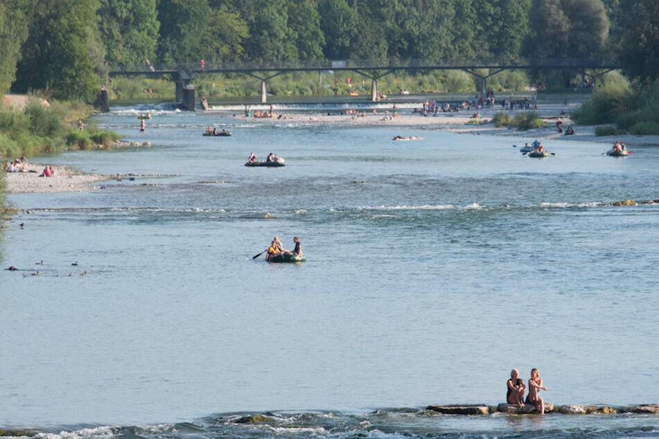 München: Isar in München für Boote wieder teilweise frei, aber eine Sperrung bleibt