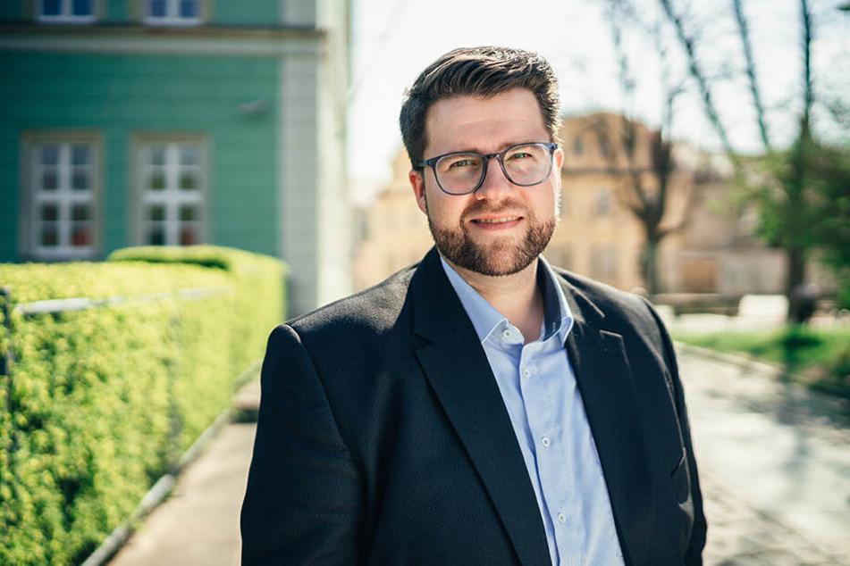 Benjamin Brunner (32, FDP) blickt nach vorne.