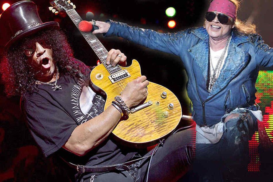 Wahnsinn! Guns N'Roses kommen im Sommer auf Leipziger Festwiese