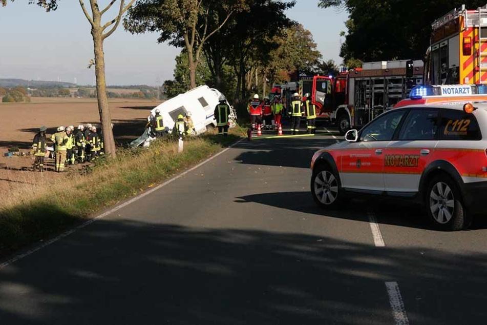 Bei dem Unfall gestorben: Eine 70-Jährige konnte nicht gerettet werden.