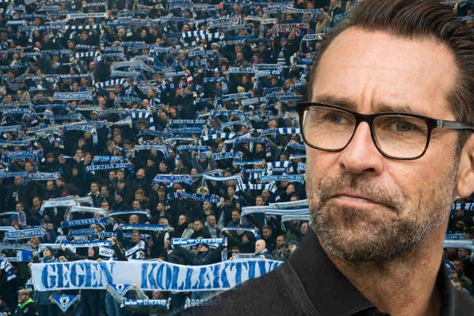 Ein für Montag geplantes Treffen zwischen Fans und Hertha-Verantwortlichen findet nicht statt.
