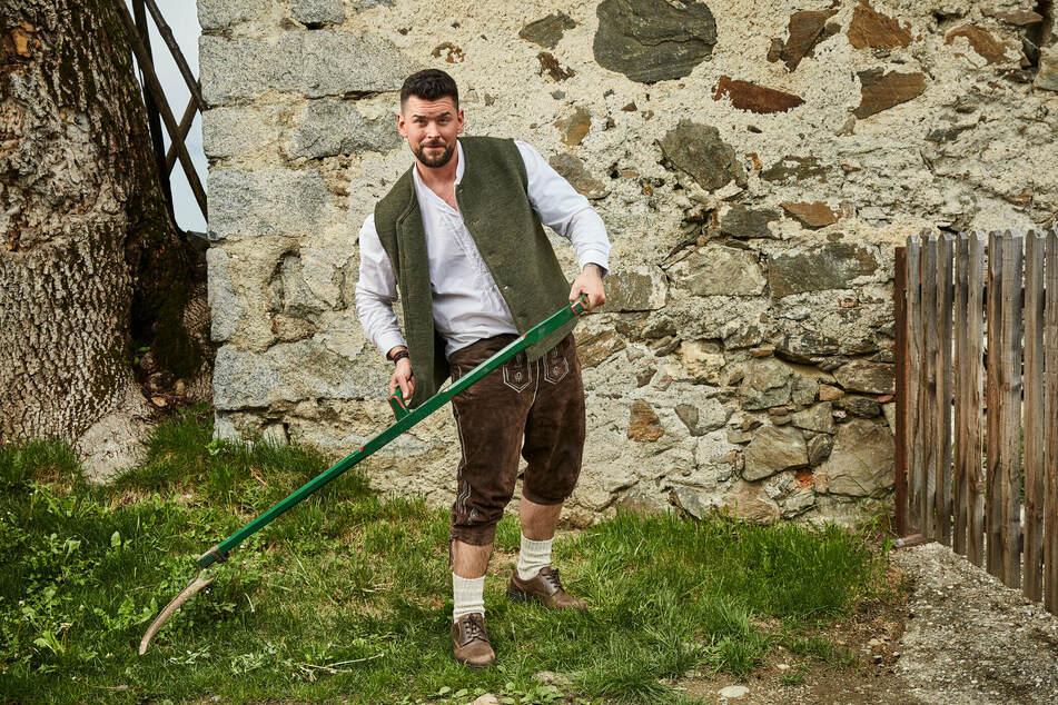 """Ioannis """"Janni"""" Amanatidis konnte sein Nerv-Image aus """"Die Bachelorette"""" auf der Alm wegsensen."""