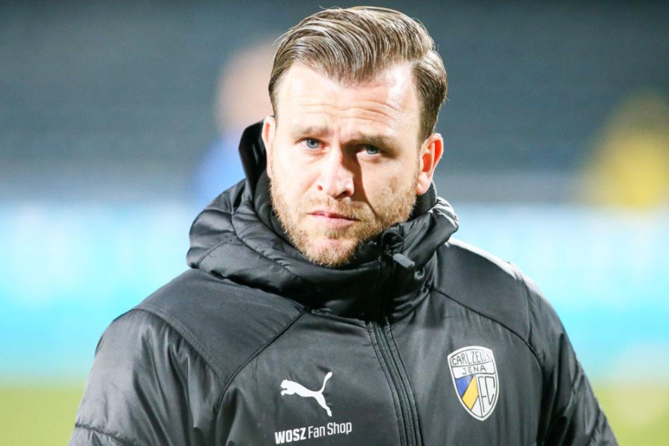 Jena-Coach René Klingbeil kann für die Regionalliga Nordost planen.