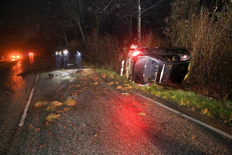 Polizei verfolgt Mercedes AMG: Schwangere Frau als Beifahrer