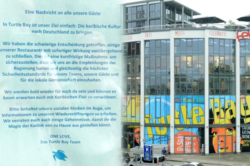 Turtle Bay geschlossen! Wird beliebtes Restaurant in Dresden überhaupt wieder öffnen?