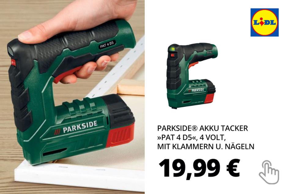 Akku Tacker »PAT 4 D5«