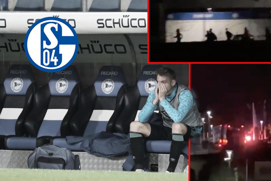 Schalke 04 versinkt im Chaos: Fans mit Hetzjagd auf Spieler, der Klub zerlegt sich!