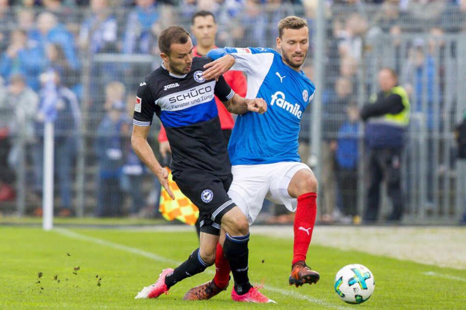 Im Holstein-Stadion verlor der DSC mit 1:2.