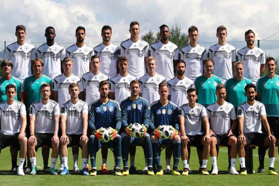 Die deutsche Nationalmannschaft will in Russland den WM-Titel verteidigen.