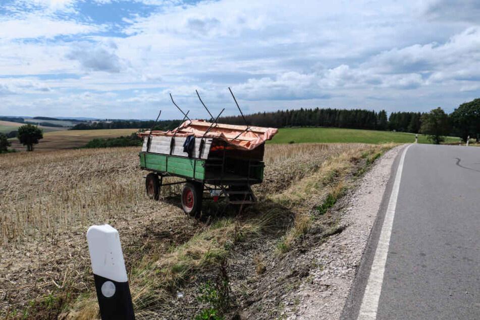 Sieben Menschen wurden bei dem Unfall verletzt.