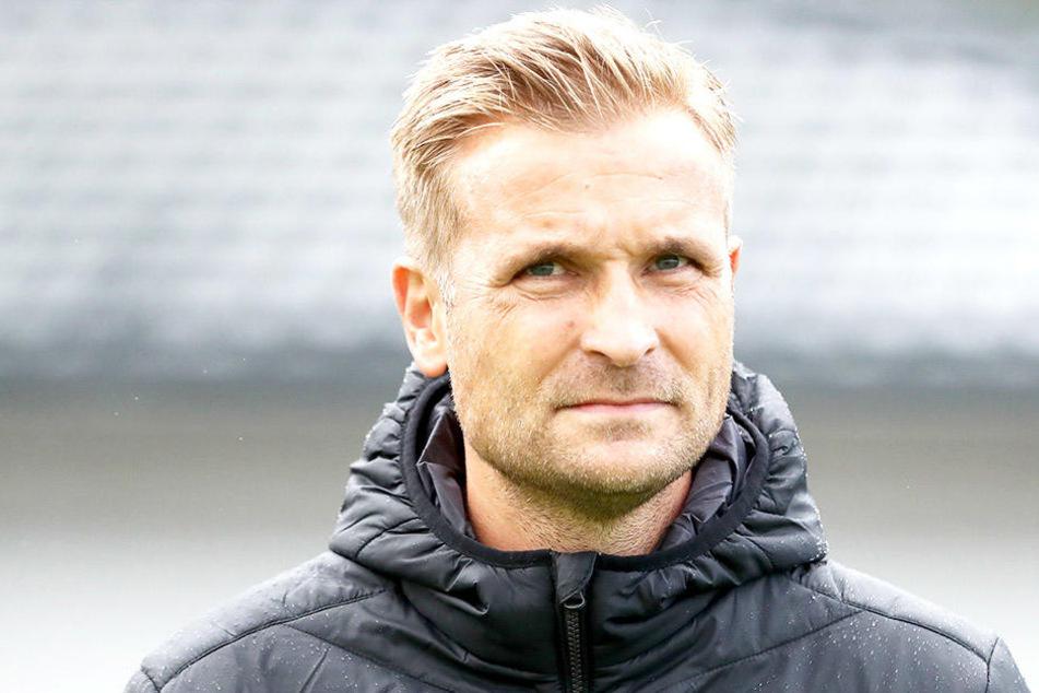 Trainer David Bergner.