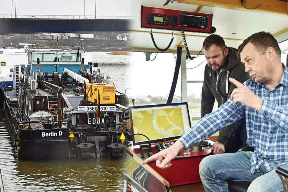 """Schubschiff """"Edda"""" macht Zwangspause im Alberthafen"""