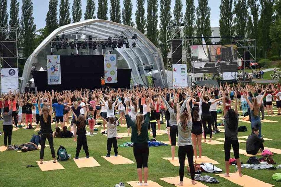 Klettergurt Für Yoga : Das sind die exotischsten sportarten beim turnfest tag24