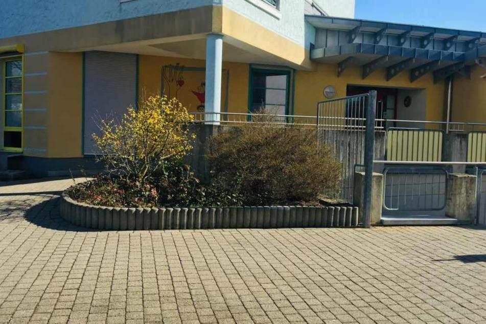 Die Polizei durchsuchte auch eine Kindertagesstätte in Würzburg.