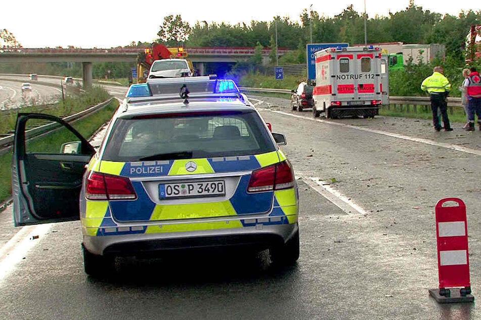 Neben Notarzt, Polizei und Feuerwehr war auch ein Notfallseelsorger vor Ort. (Symbolbild)