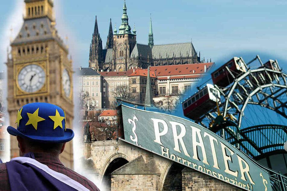 In die Städte London, Prag und Wien will die Schule vorerst nicht reisen. (Symbolbild)