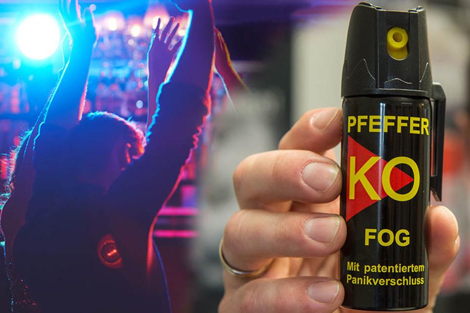Ein junger Mann soll in einem Chemnitzer Nachtclub Pfefferspray versprüht haben. (Symbolbild)