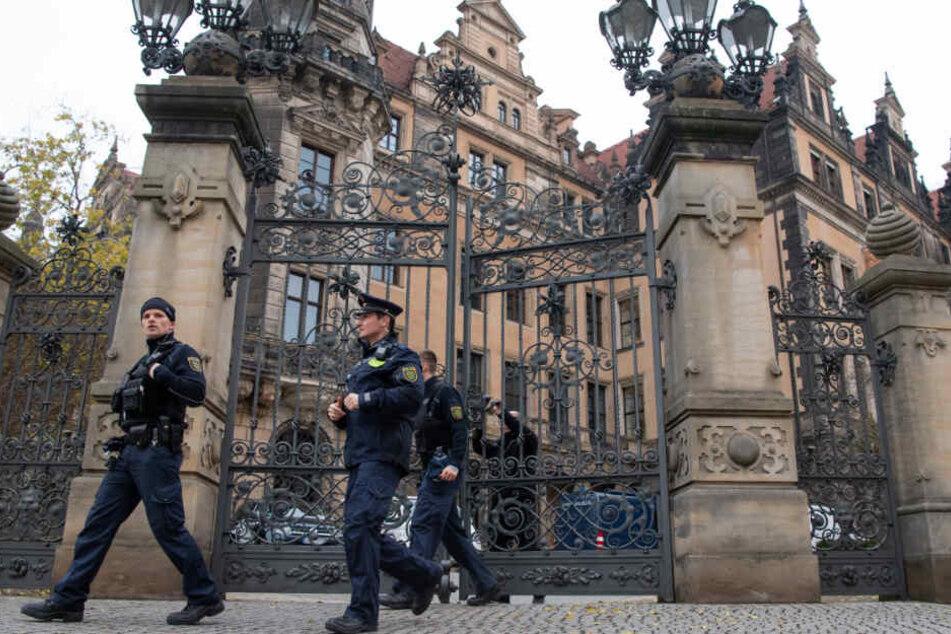 Der Juwelenraub im Grünen Gewölbe hält die Polizei noch immer auf Trab
