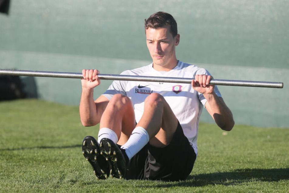 Auch Dominik Wydra kann auf Rügen neue Kraft tanken.