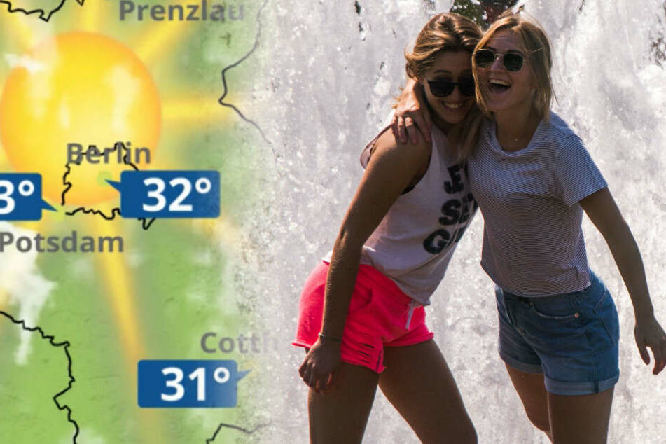 Am Mittwoch könnte es in Berlin bis zu 36 Grad heiß werden.
