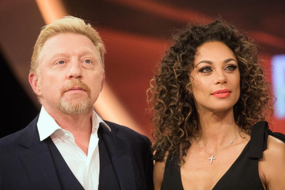 Feierten den Jahreswechsel zum ersten Mal als Ex-Paar: Boris und Lilly Becker.